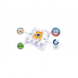 Bosch premium 4 vnt dulkių siurblių maišeliai SVI67-4