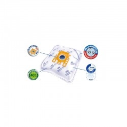 Clatronic premium 4 vnt dulkių siurblių maišeliai Yvi50-4