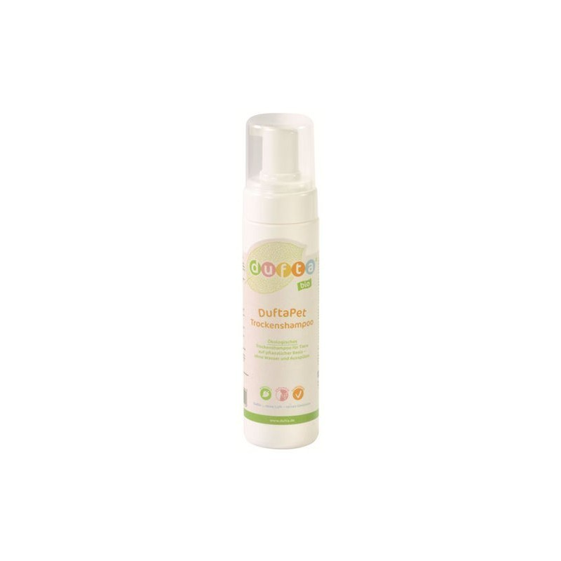 DuftaPet sausas gyvūnų šampūnas 200ml ekologiškas