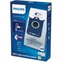 S-BAG dulkių siurblių maišeliai Philips Longer Performance FC8021-03