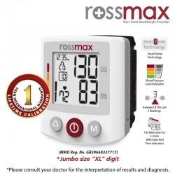 ROSSMAX BQ705 XL riešo kraujospūdžio matuoklis