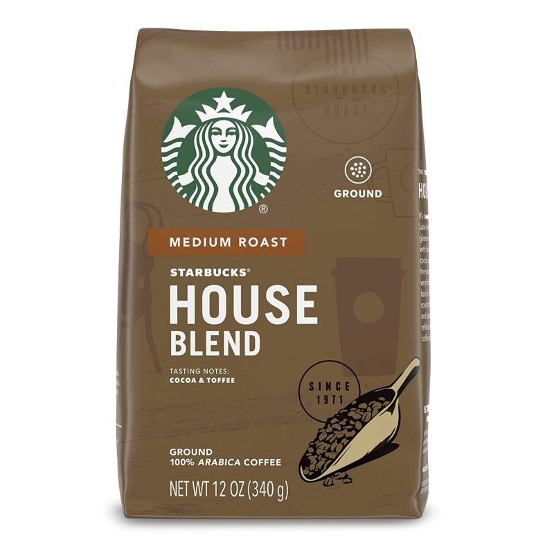 Starbucks House Blend kavos pupelės 250g