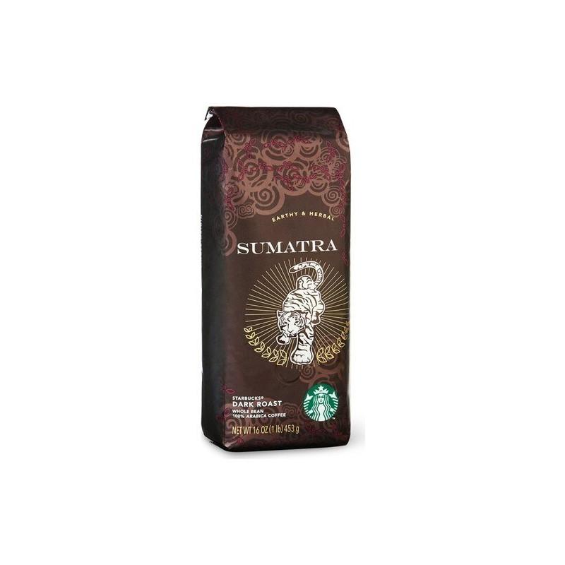 Starbucks Sumatra kavos pupelės 250g tamsaus skrudinimo arabika