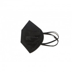1 vnt juodas respiratorius KN95 FFP2 respiratoriai