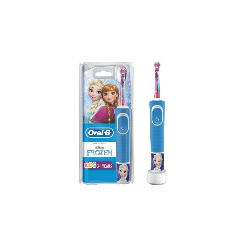 Braun OralB vaikiškas dantų šepėtėlis Frozen princesės