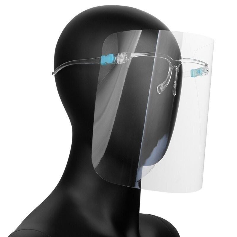 50vnt apsauginiai veido skydeliai - lengvi gerai valomi